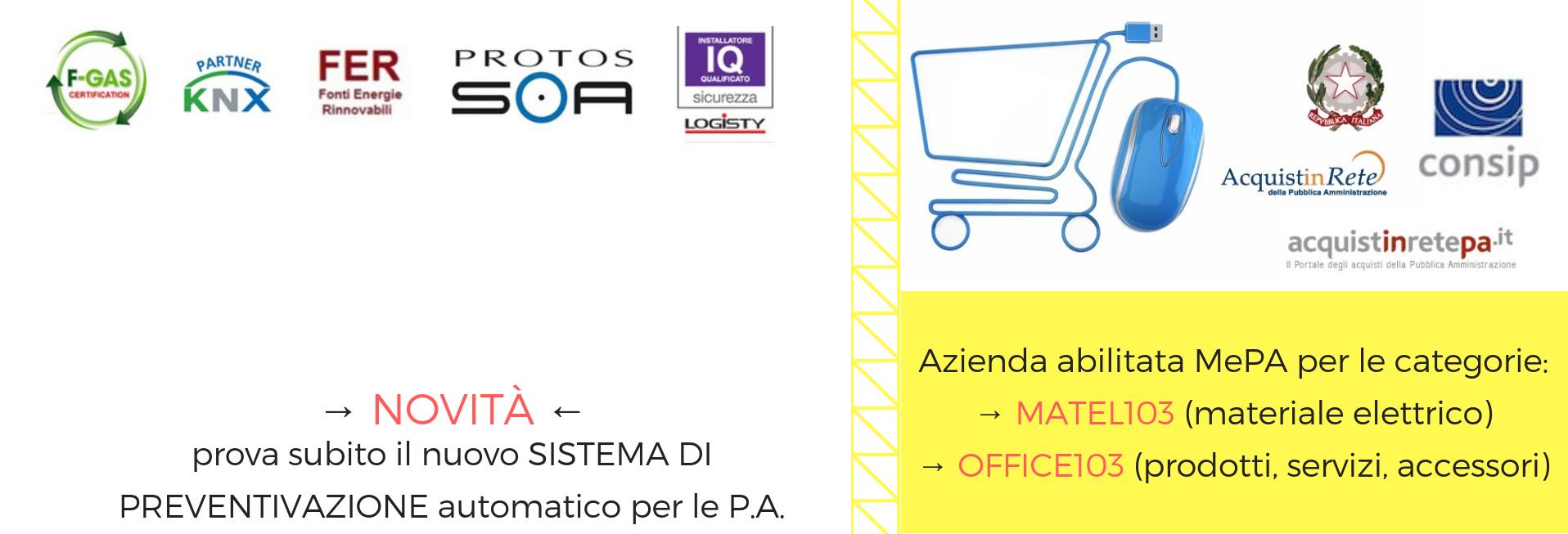 Partner certificati Pubblica Amministrazione